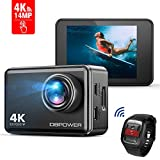 DBPOWER EX7000 Action Camera Touchscreen 4K Ultra-HD 14MP Wi-Fi, Telecamera...