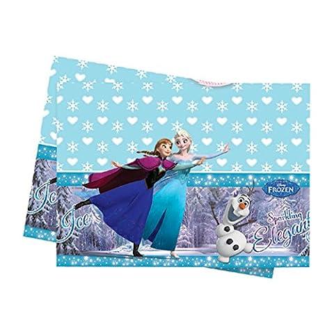 Tischdecke 120x180cm Frozen Eiskönigin Ice Skating Elsa Anna Olaf