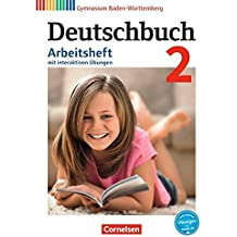 Deutschbuch Gymnasium - Baden-Württemberg - Bildungsplan 2016 / Band 2: 6. Schuljahr - Arbeitsheft mit interaktiven Übungen auf scook.de: Mit Lösungen