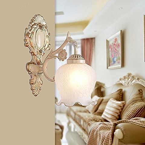 FEI&S stile moderno piccola lampada da parete lampada da parete creativa al posto letto balcone bagno scale luci luci Specchio specchio da parete lampada frontale #13A