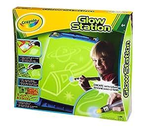 Crayola - 95-1000 - Loisir Créatif - Tableau et Accessoire - Glow Station