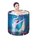 Uncle Sam LI-Folding-Badebottich Kunststoff Badewanne Erwachsene Badewanne Inflatable Bad Eindickung Badewanne