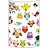 BAOQIN 60 * 80 Inches Unique Design Wonderful Prints Custom Art Owl Wall Art Tapestries Home Decor Wall Hanging Tapestry Size 40