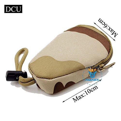 Multifunktions Mini Survival Gear Tactical Beutel MOLLE POUCH Coin Schlüssel Pouch, Outdoor Camping Tragbare Travel Bags Handtaschen Werkzeug Taschen Taille Tasche DCU
