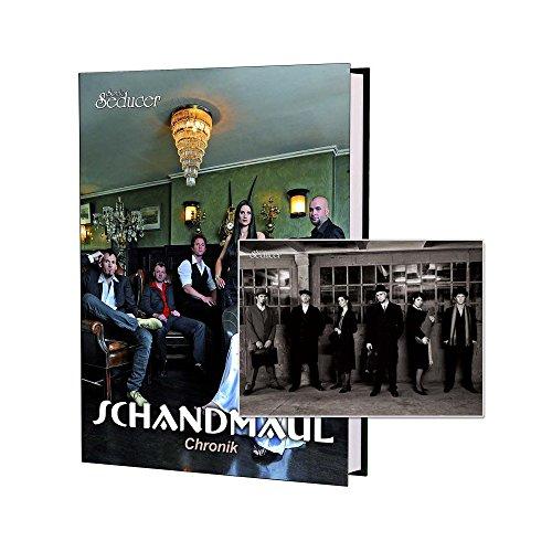 Schandmaul Chronik / Buch von Sonic Seducer im Hardcover + handsignierte Postkarte + exkl. neues Interview