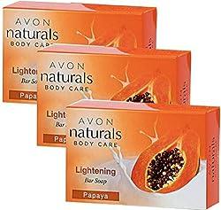 Naturals Papaya Bar Soap 100g (Set Of 3)