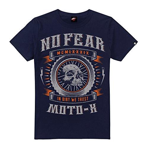No Fear Herren T-Shirt in Dirt We Trust blau (marineblau)