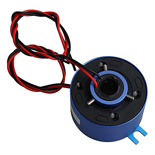 cnbtr 5,4cm od 380V 10A Pro Circuit 2Schaltungen blau Legierung Capsule Slip Ring Loch Durchmesser 12,7mm