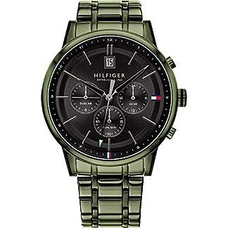 Tommy Hilfiger Reloj Analógico para Hombre de Cuarzo con Correa en Acero Inoxidable 1791634