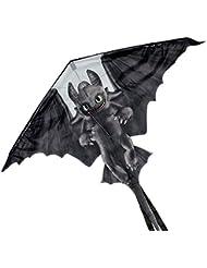 Happy People 16682 - Dragons Flugdrache Ohne Zahn, schwarz