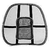 Mesh Lendenwirbelstütze Belüften Kissen für Autositz oder Bürostuhl, atmungsaktiv Sitzkissen für alle Arten Autositz Bürostuhl