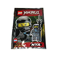 LEGO Ninjago Nya Minifigure 3 Foil Pack Set 891951 (Bagged)