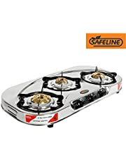 Safeline Rainbow 3 Burner Manual Ignition Stainless Steel G