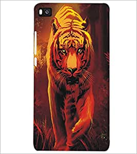 HUAWEI P8 TIGER Designer Back Cover Case By PRINTSWAG