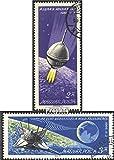 Ungarn 2218A-2219A (kompl.Ausg.) 1966 Landung Luna 9 auf dem Mond (Briefmarken für Sammler)