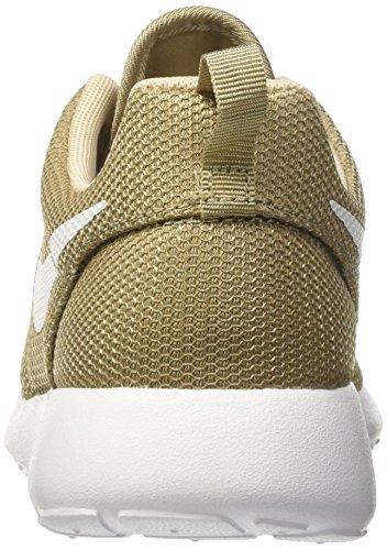 Nike Roshe One, Scarpe da Ginnastica Uomo Verde (Khaki/White/Oatmeal/White)