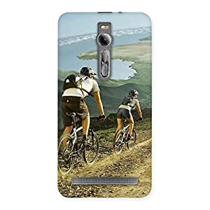 Enticing Bycycle View Back Case Cover for Asus Zenfone 2