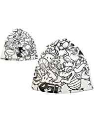 Nintendo Beanie Super Mario Allstars Characters White Cap Mütze Strickmütze