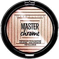 Maybelline Master Chrome Polvos amplificadores de luz, 9 g, 50 Molten Rose Gold