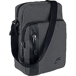 Nike - Core Small Items 3.0 - Sac bandouliere, 3L - Mixte - Gris (Dark Grey/Black) - Taille unique