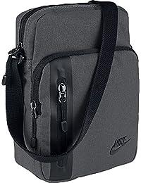 Nike Core Items 3.0 Bolsa de Hombro, Negro/Gris (Dark Grey), S