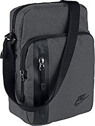 Nike Unisex – Erwachsene NK TECH SMALL Items Schultertaschen Dark Grey Black, One Size