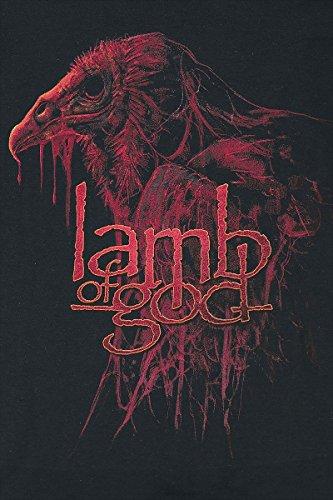 Lamb Of God Vulture Kapuzenpulli schwarz Schwarz
