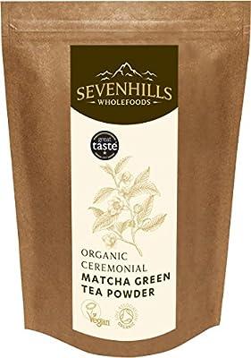 Sevenhills Wholefoods Poudre De Thé Vert Matcha Cru Bio, Cérémonie Japonaise