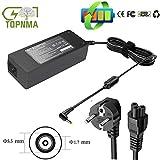 Topnma 90W 19V 4.74A Chargeur d'ordinateur Portable pour Acer Aspire 7739G E5 7738G V5-171 7750G A515 AC Adapter, Fit for PA-1650-02 ADP-90SB BBNotebook Connecteurs: 5.5 * 1.7mm, EUR Alimentation