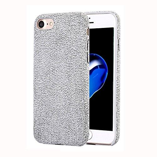 RBERJ Hülle Für iPhone 7 Ultra Fiber + PC Protective zurück Fall Mode Telefon Fall Handyhülle (Farbe : Grau)