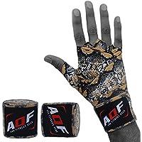 Vendas para usar debajo de los guantes de boxeo, ideales para prácticas de artes marciales como Muay Thai, MMA y UFC, de 4metros, de la marca AQF , Snake Skin