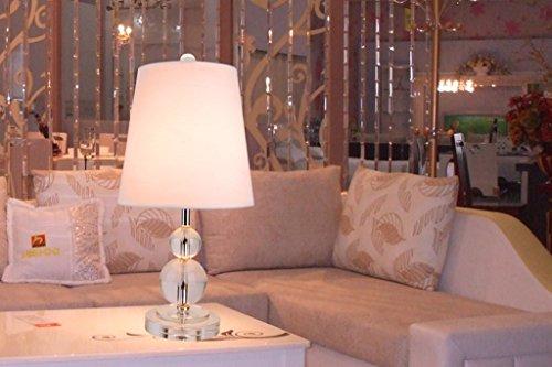 wysm American Country cristallo Desk Lamp creativo Camera comodino lampada moderna di nozze Vetro Soggiorno Studio Desk Lamp