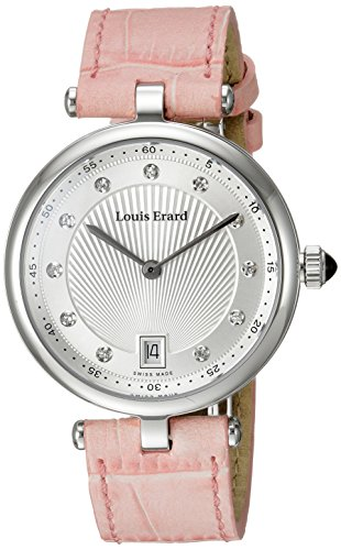 Louis Erard Women's 11810AA11.BDCB4 Romance Analog Display Quartz Pink Watch