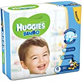 Huggies – Bimbo – Couches – Taille 6 (15 – 30 kg) – 34 couches