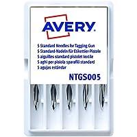 Avery España NTGS005 - Pack de 5 agujas estándar para la pistola etiquetadora Avery