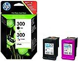 HP - Hewlett Packard PhotoSmart C 4650 (300 / CN 637 EE#301) - original - 2 x consumer material (black, cyan, magenta, yellow) - 300 Pages - 4ml