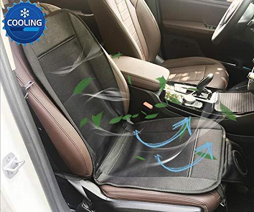 Big Ant Sitzbezüge Auto Kühl Sitzauflage Sitzkissen Auto mit Belüftung und Heizung Funktion Klima Sitzauflage 12V für Auto Bürostuhl (1 Stück)