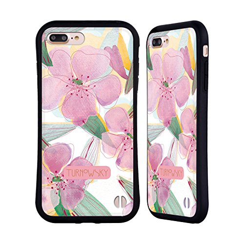 Ufficiale Turnowsky Cielo Floreale Essenza Di Bocciolo Case Ibrida per Apple iPhone 6 Plus / 6s Plus Fucsia Floreale