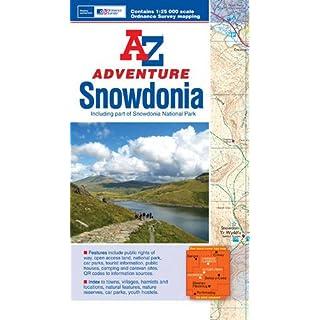 Snowdonia Adventure Atlas (A-Z Adventure Atlas)