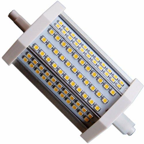 15W LED mit 1470 Lumen R7s-118 J118 Lampe-Brenner Leuchtmittel 118mm warm weiß 3000K