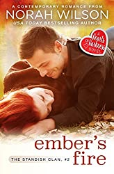 Ember's Fire: A Hearts of Harkness Romance (The Standish Clan Book 2) (English Edition)