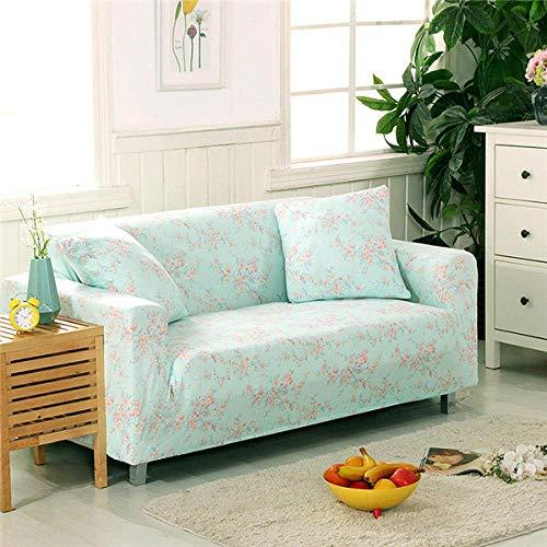 BAOFI Funda de Sofa Cama Universal Elastica, Cubierta de Sofá rinconera, Couch Cover 1 2 3 4 Plaza, para Cocina, Dormitorio Cuidado facil,Color de 7,235-300cm 4 Lugares