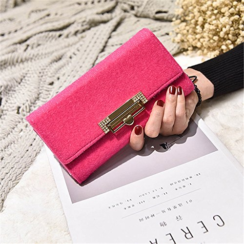 peach herz schloss brieftasche lady hand tasche cordhose handtasche lange feste brieftasche,pink