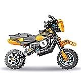 Gjliwu DIY Zauber Einfügen Blöcke Off-Road Motorrad Modell Puzzle Zauber Einfügen Montage...