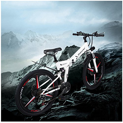 51nmEkYfO4L. SS500  - GTYW Electric Folding Bicycle Mountain Bicycle Moped 48V Lithium One Wheel Bicycle 26