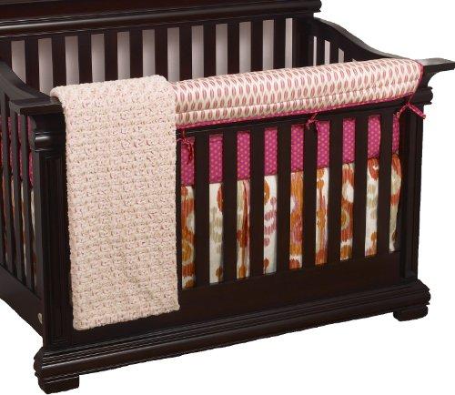 Cotton Tale Designs avant Crib Rail Cover Up Parure de lit de berceau, Sundance en coton Tale Designs