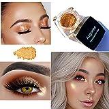 Jaminy Farbe Glitter Lidschatten Diamant Regenbogen Make up Kosmetik Augenschatten (B)