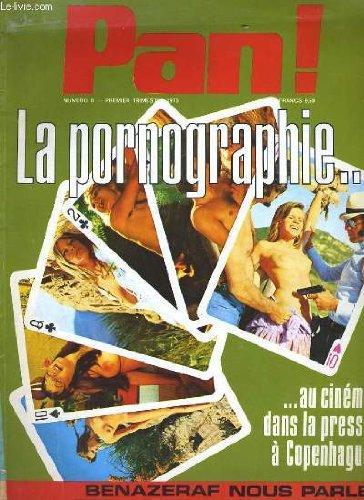 Pan! n° 8 - la pornographie au cinema dans la presse a copenhague - benazeraf nous parle...