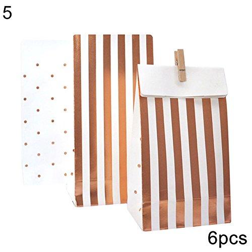 Siridescentzb stripes dots piatti monouso tovaglioli tazze cannucce party articoli per la tavola 5#