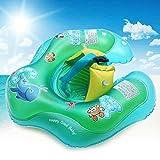 MOGOI Baby Schwimmschwimmer/Schwimmring für Kleinkinder, aufblasbar, mit aufblasbarem Taillenschutz, Baby Kleinkinder, Schwimmhilfe, Outdoor-Schwimmbad, Badewanne, Zubehör (3-36 Monate)